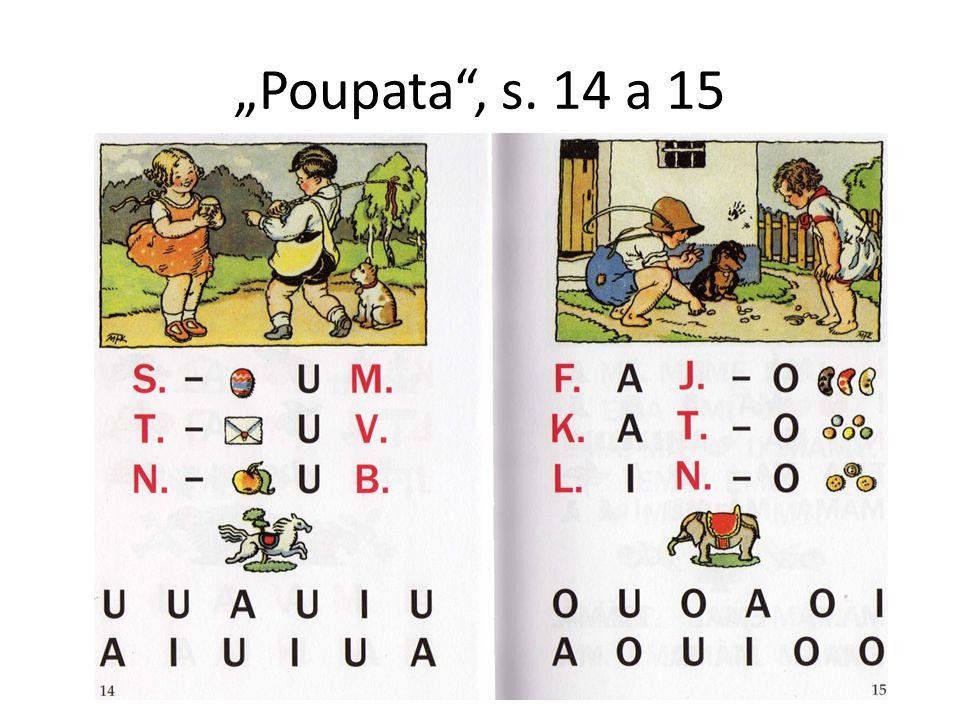 """""""Poupata"""", s. 14 a 15"""