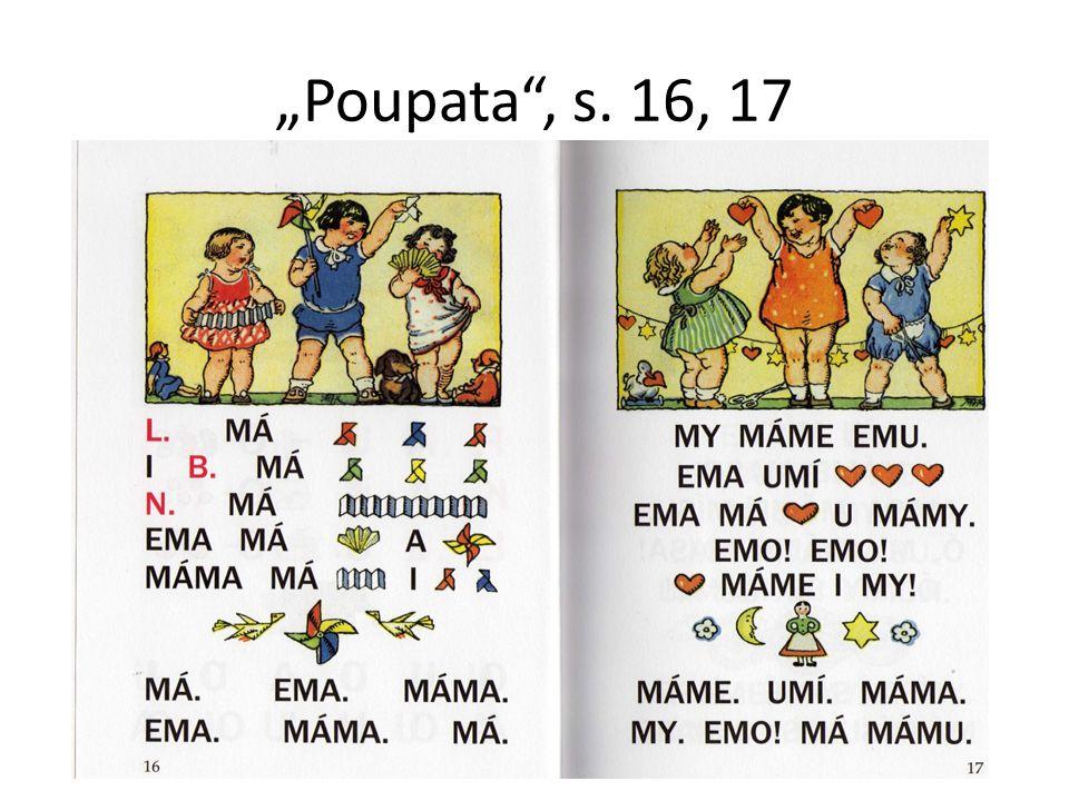 """""""Poupata"""", s. 16, 17"""