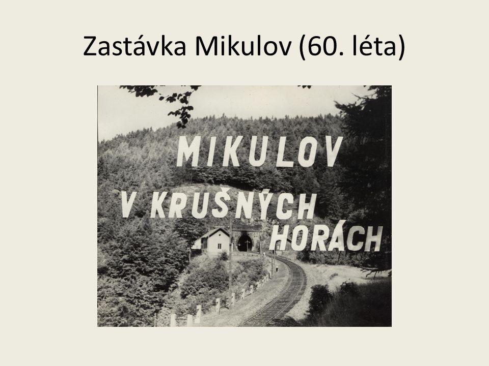 Zastávka Mikulov (60. léta)