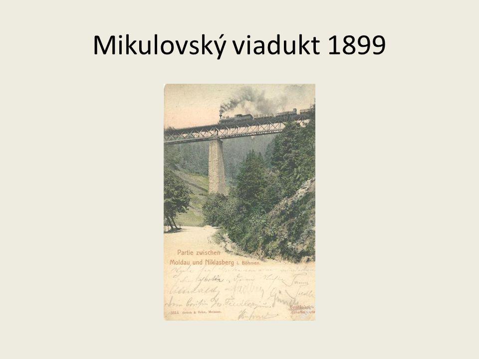 Mikulovský viadukt 1899