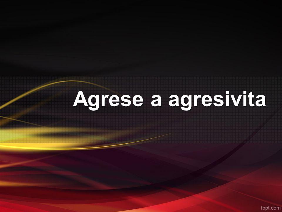 Agresivní chování člověka je přirozenou součástí jeho sociálního chování a zároveň je součástí chování zaměřeného na uspokojení potřeb a dosahování cílů.