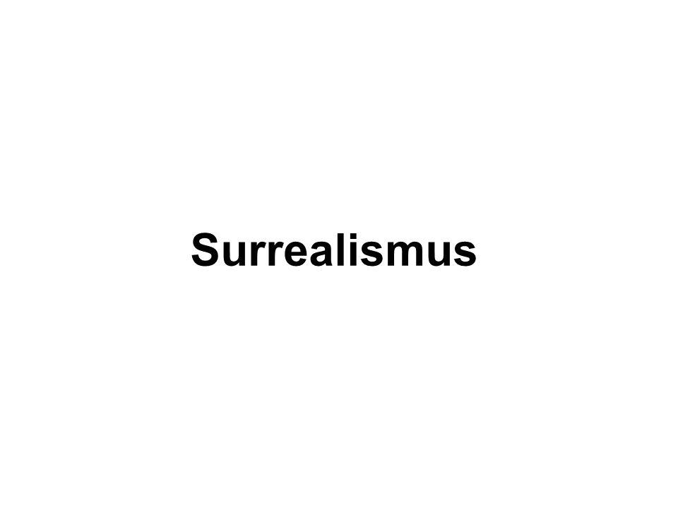 Osnova Charakteristika doby a uměleckého směru Hlavní znaky surrealismu Rozdělení surrealimu Malířství a architektura Hlavní představitelé surrealismu