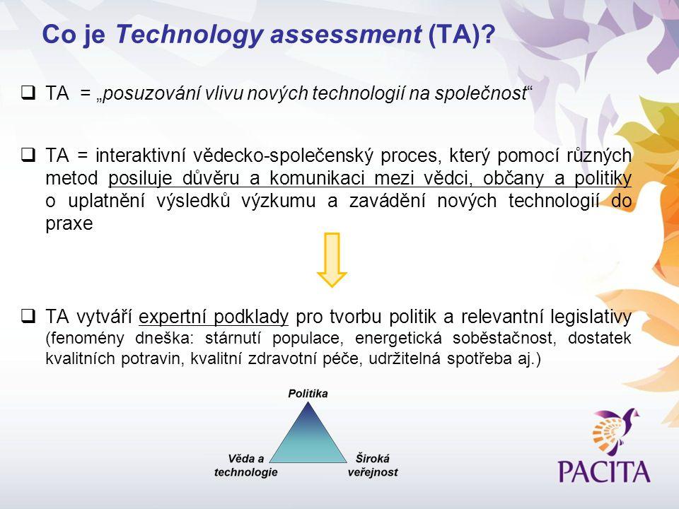 Co je Technology assessment (TA).