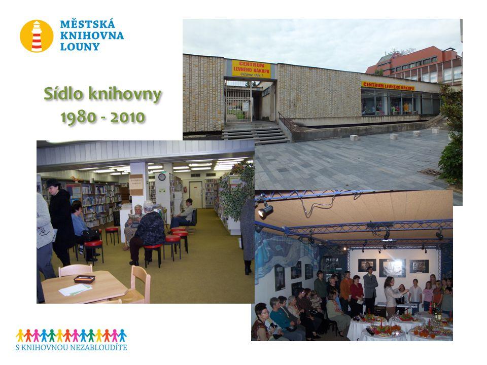 Sídlo knihovny 1980 - 2010 Sídlo knihovny 1980 - 2010