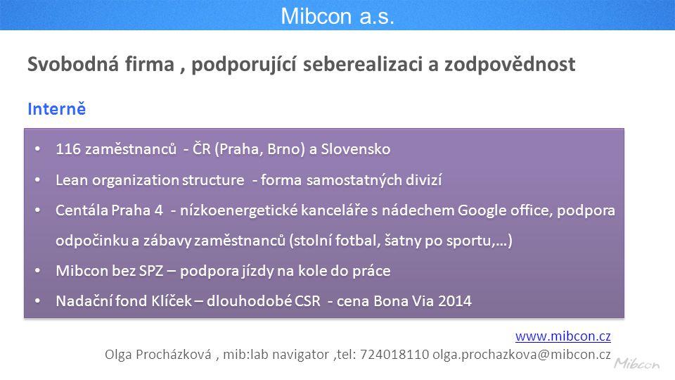 Mibcon a.s.
