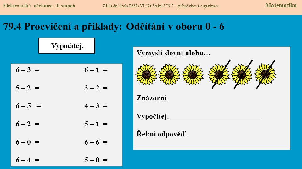 79.5 Procvičení a příklady: Sčítání v oboru 1 – 7.