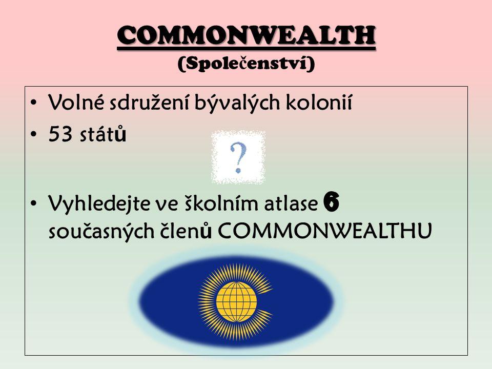COMMONWEALTH COMMONWEALTH (Spole č enství)
