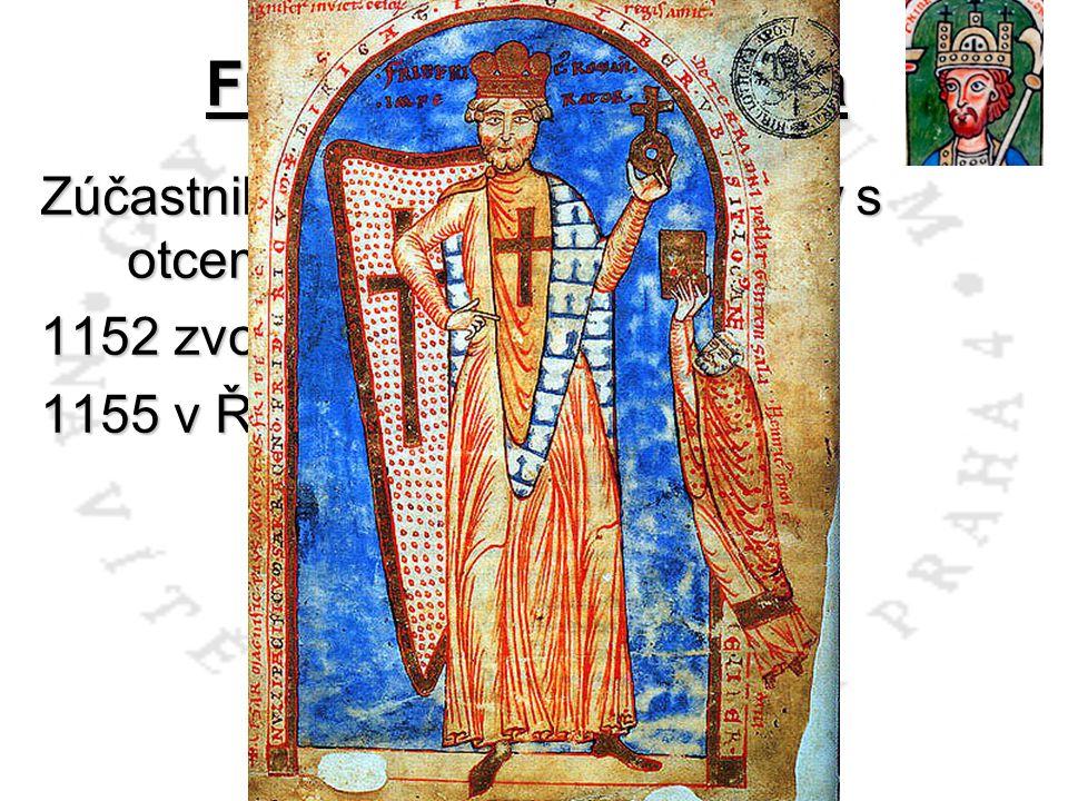 Zúčastnil se už 2.křížové výpravy s otcem a strýcem Welfem VI.