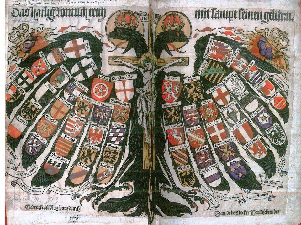 Jak vypadá od 10.století moc v Německu.