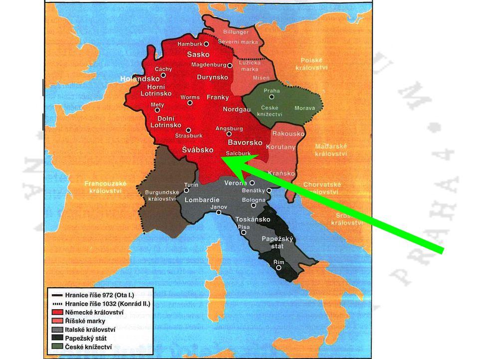 Hohenštaufové ze Švábska Přiženili se do císařské rodinyŠtaufové