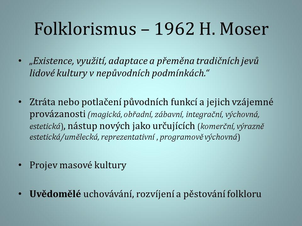 Folklorismus – 1962 H.