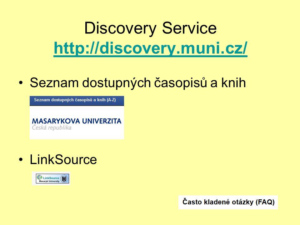 Citační manažery EndNote Citace PRO (Discovery)Citace PRO Zotero