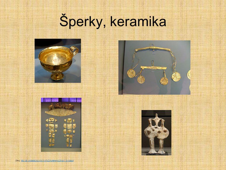 Agamemnonova maska  nejznámější mykénský nález král Agamemnon byl jeden z hrdinů Trojské války masku našel Schliemann r.1876 v hrobě pokrytém zlatými šperky  pojmenoval ji po bájném králi Zdroj: http://cs.wikipedia.org/wiki/Myk%C3%A9nsk%C3%A1_civilizacehttp://cs.wikipedia.org/wiki/Myk%C3%A9nsk%C3%A1_civilizace