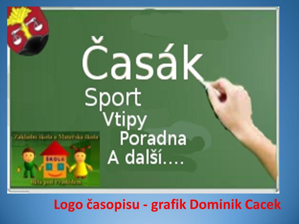 Logo časopisu - grafik Dominik Cacek