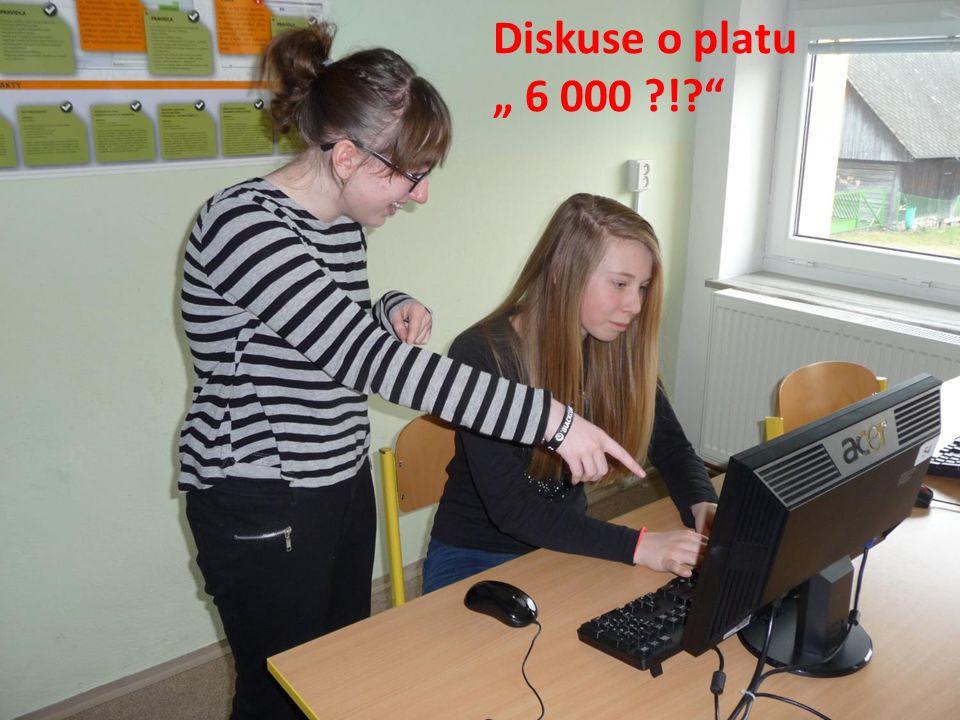 "Diskuse o platu "" 6 000 ?!?"""