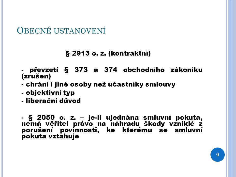 P REVENCE § 2900 o.z.