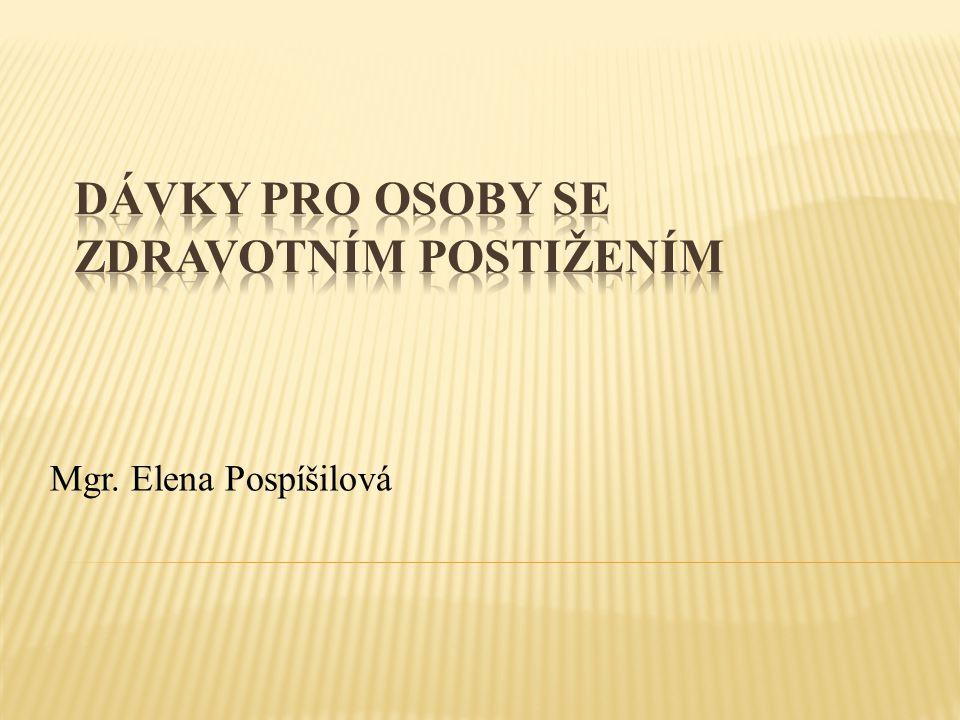 Mgr. Elena Pospíšilová