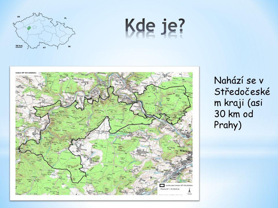 Nahází se v Středočeské m kraji (asi 30 km od Prahy)