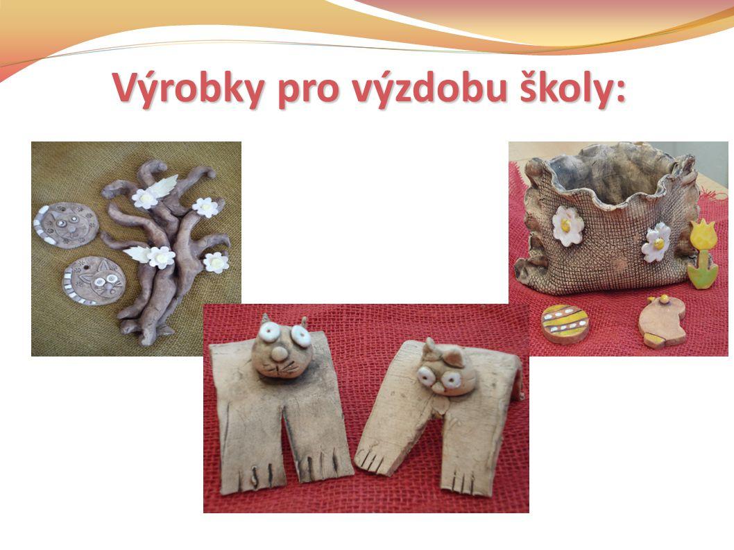Výrobky pro výzdobu školy: