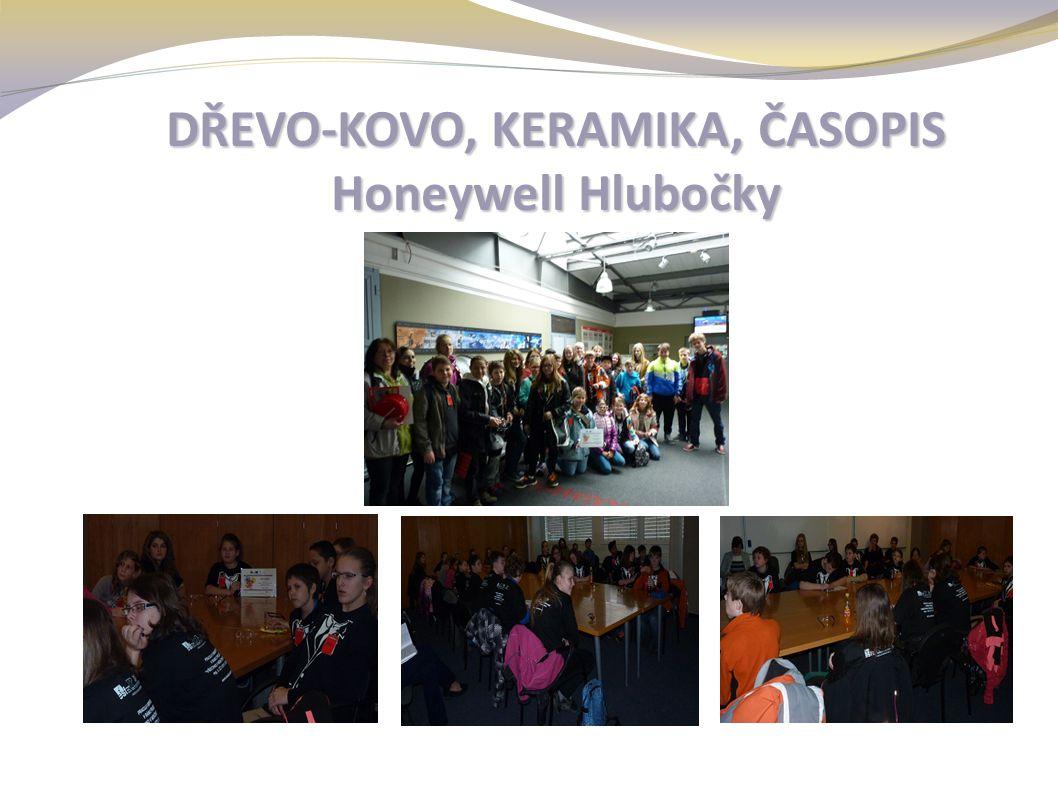 DŘEVO-KOVO, KERAMIKA, ČASOPIS Honeywell Hlubočky