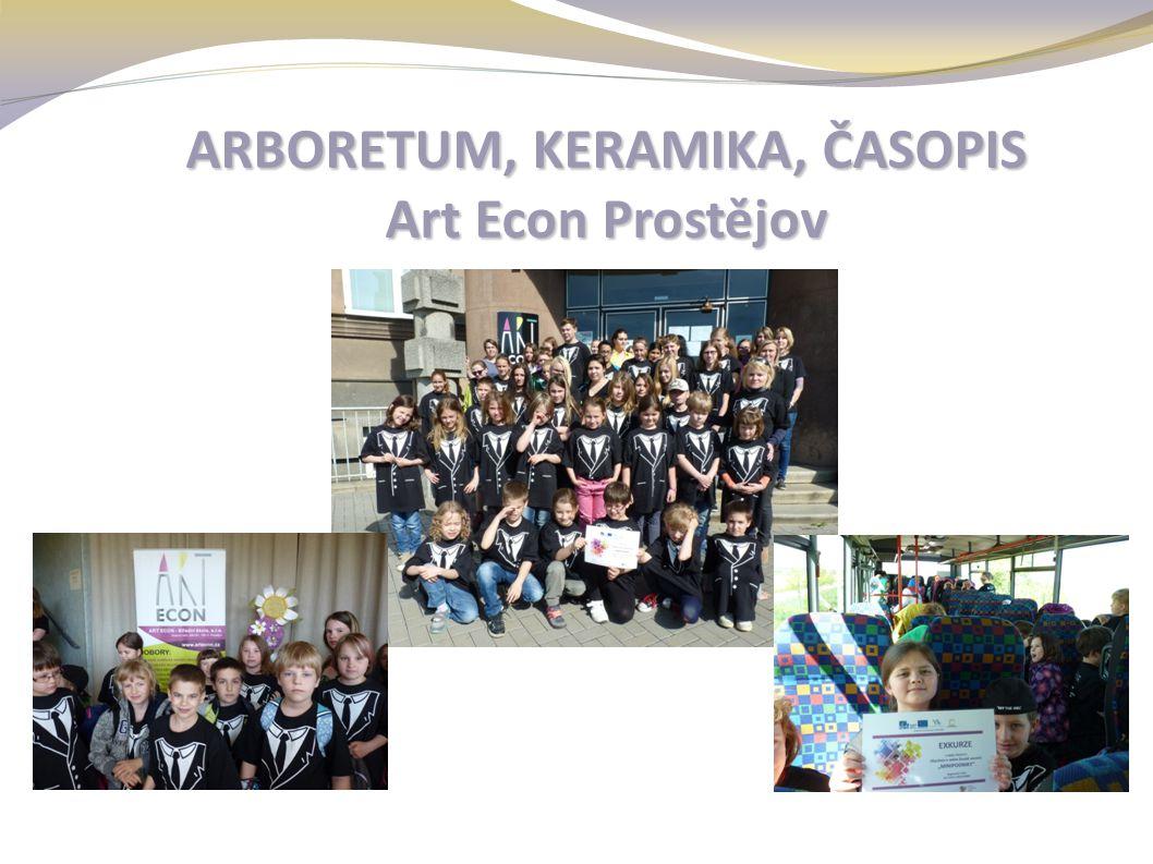 ARBORETUM, KERAMIKA, ČASOPIS Art Econ Prostějov