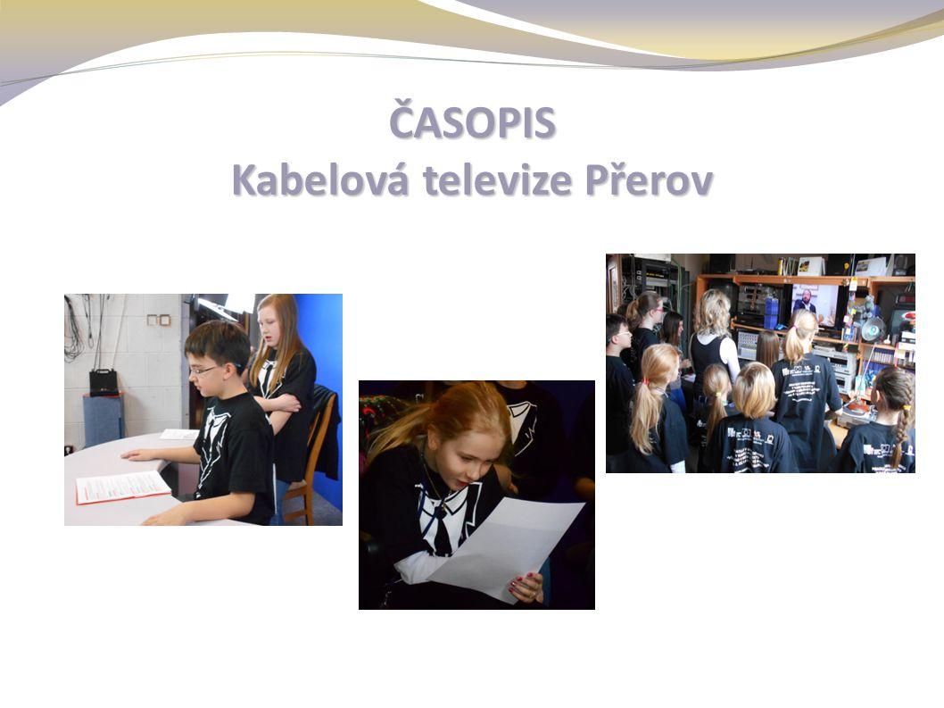 ČASOPIS Kabelová televize Přerov