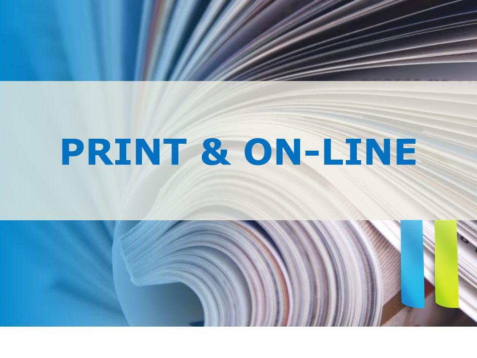 PRINT & ON-LINE
