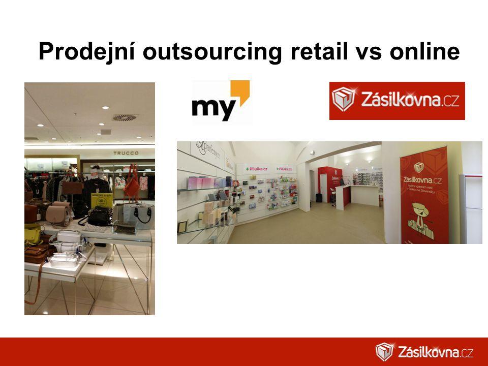 Prodejní outsourcing retail vs online