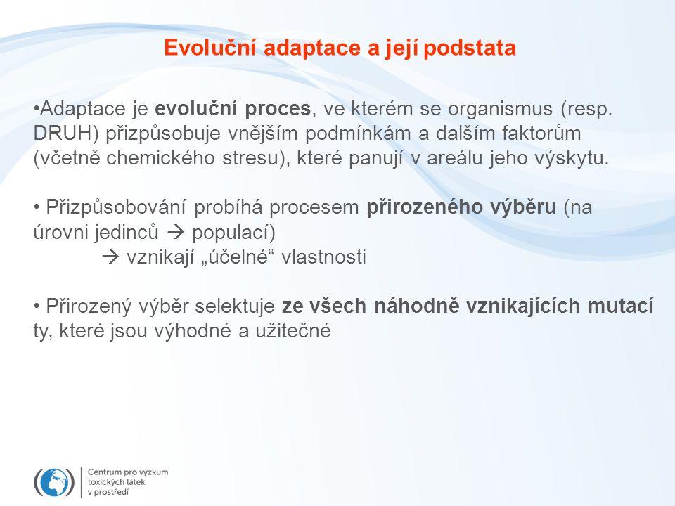 Adaptace je evoluční proces, ve kterém se organismus (resp.