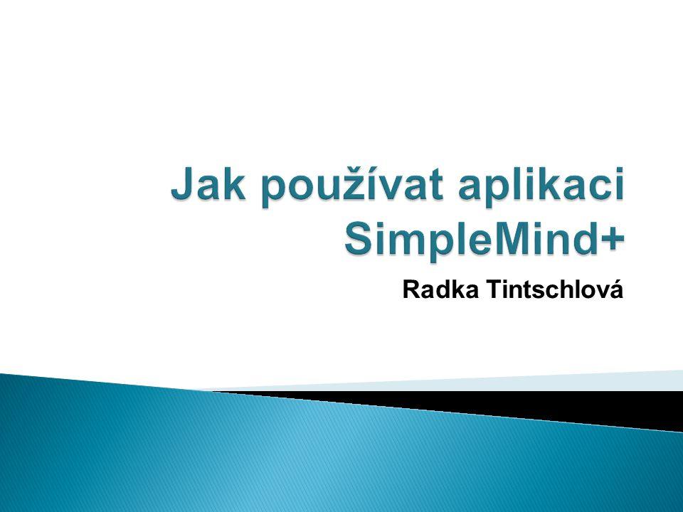 Takto vypadá logo aplikace SimpleMind+