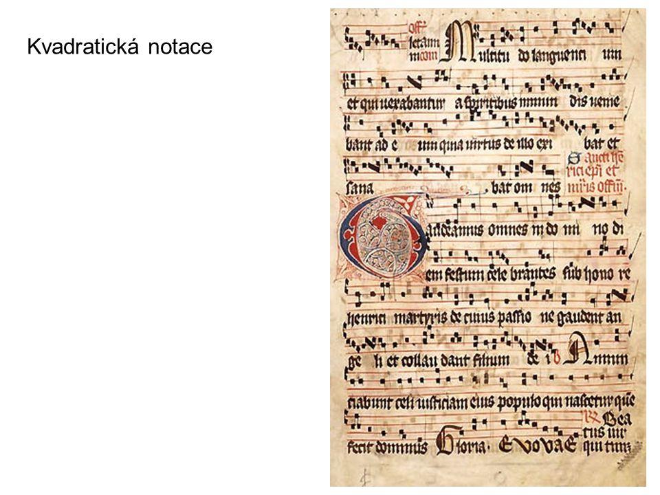 Mensurální notace