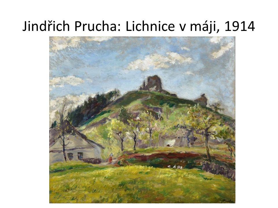 Jindřich Prucha: Lichnice v máji, 1914
