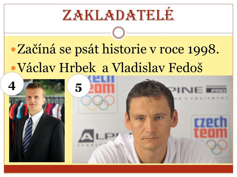 Zakladatelé Začíná se psát historie v roce 1998. Václav Hrbek a Vladislav Fedoš 4 5