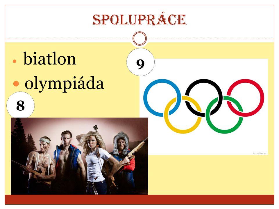 Spolupráce biatlon olympiáda 8 9