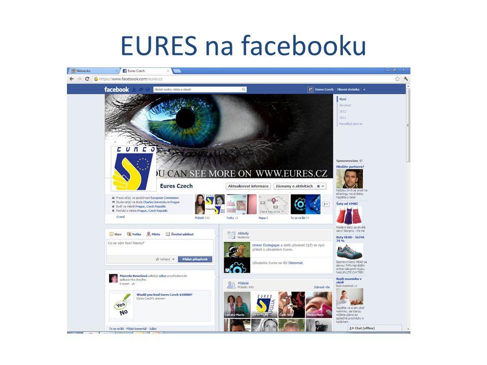 EURES na facebooku