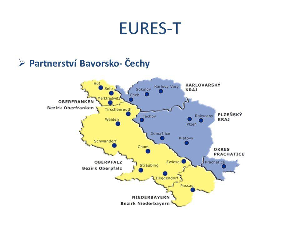 EURES-T  Partnerství Bavorsko- Čechy