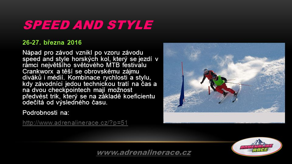 SPEED AND STYLE 26-27.