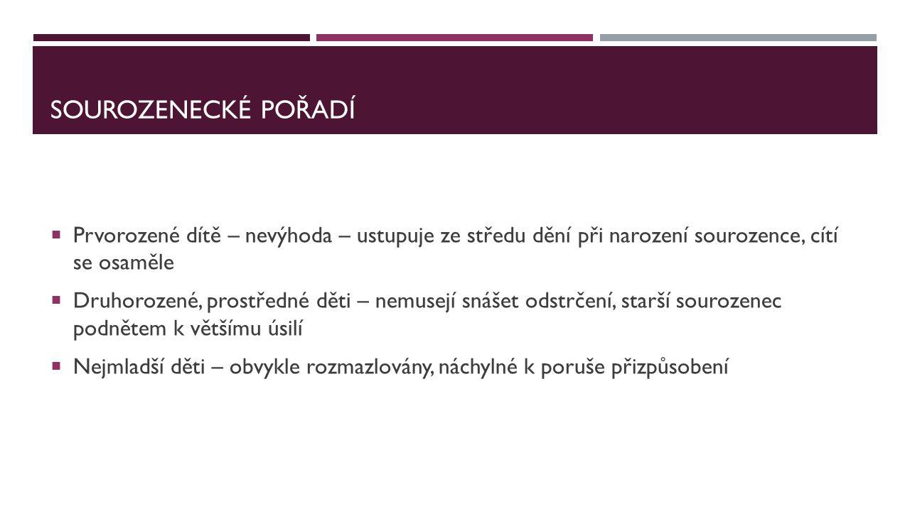 TYPY ŽIVOTNÍCH STYLŮ  1.