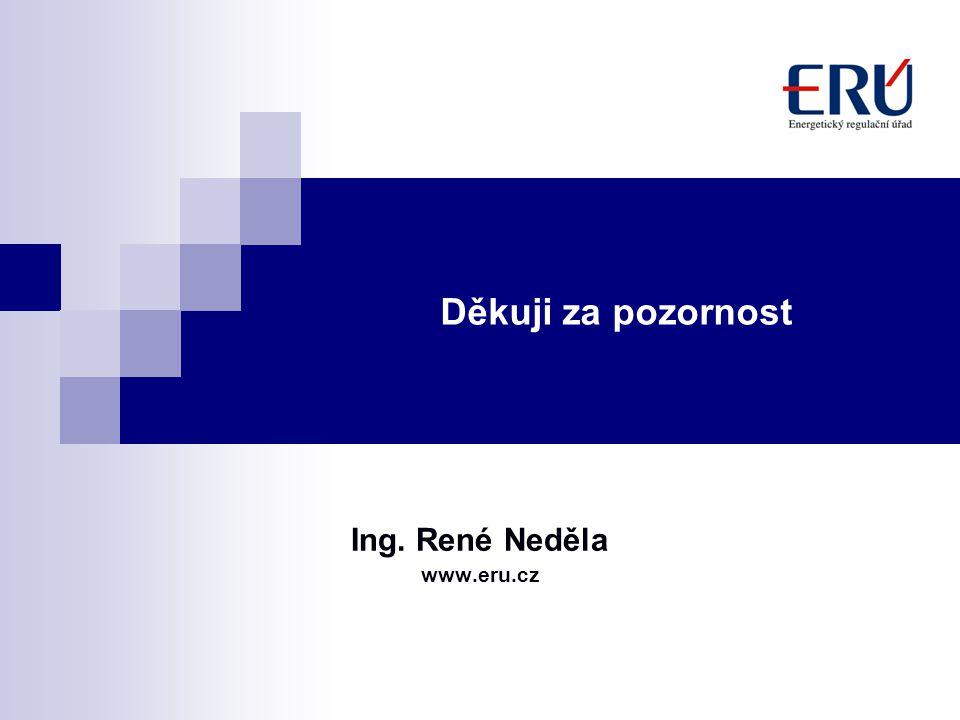 Děkuji za pozornost Ing. René Neděla www.eru.cz