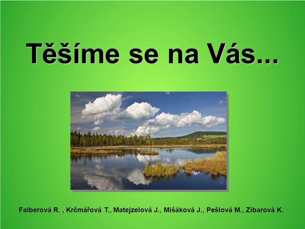 Těšíme se na Vás... Falberová R., Krčmářová T., Matejzelová J., Mišáková J., Pešlová M., Zíbarová K.