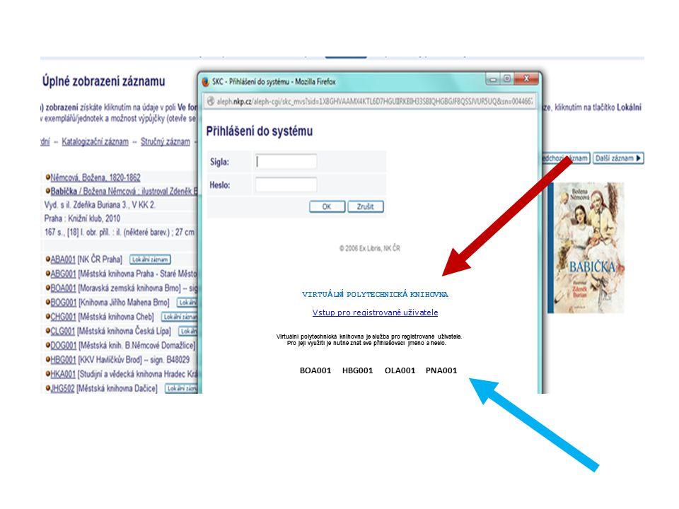 VIRTUÁLNÍ POLYTECHNICKÁ KNIHOVNA Vstup pro registrovan é uživatele Vstup pro registrovan é uživatele Virtuální polytechnická knihovna je služba pro re