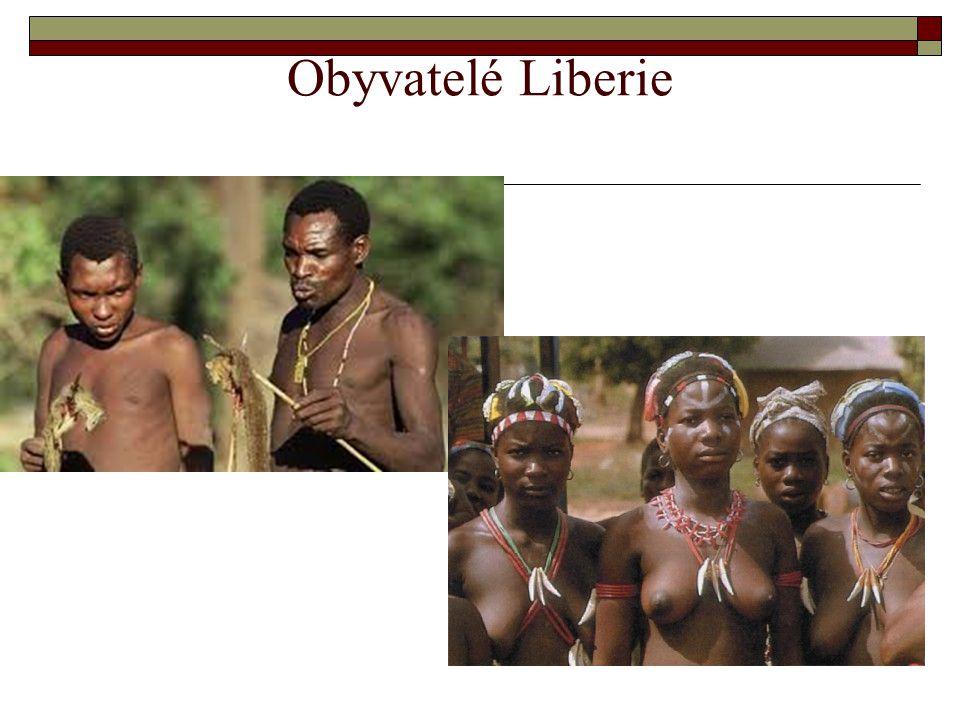 Obyvatelé Liberie