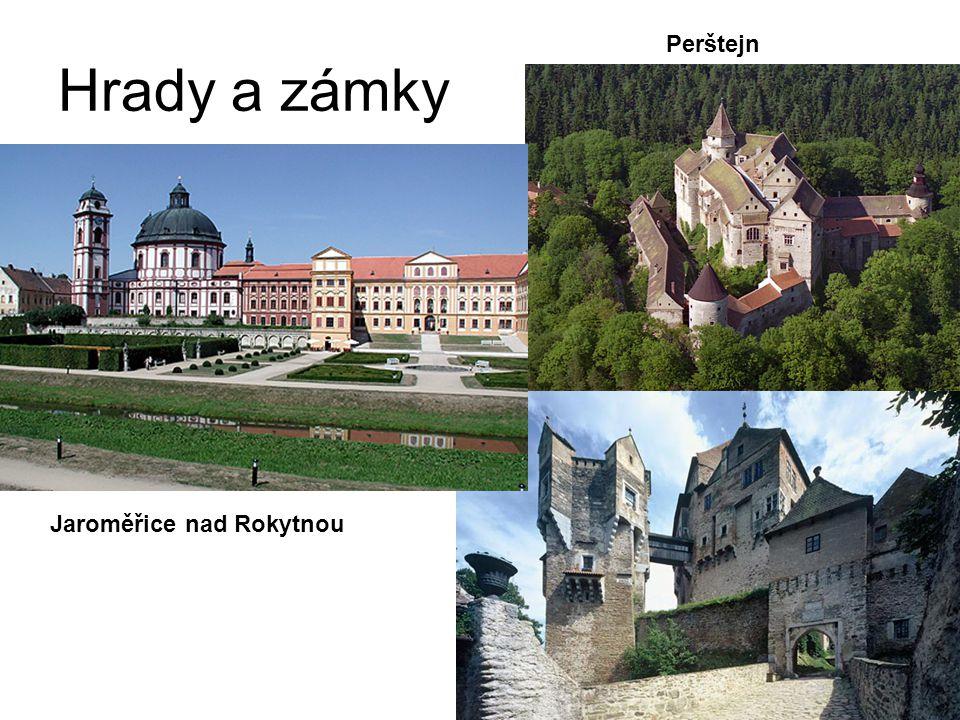 Hrady a zámky Jaroměřice nad Rokytnou Perštejn