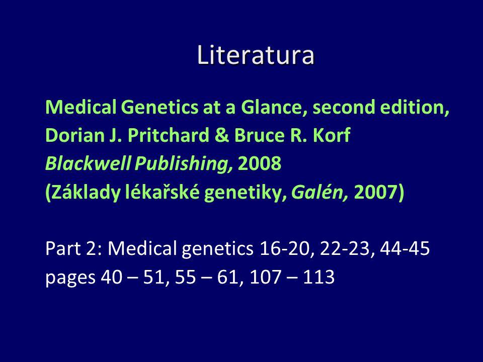 Literatura Medical Genetics at a Glance, second edition, Dorian J.