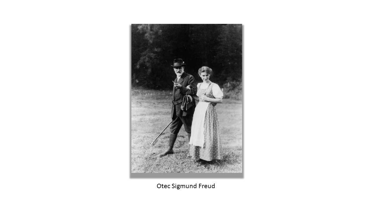 Otec Sigmund Freud