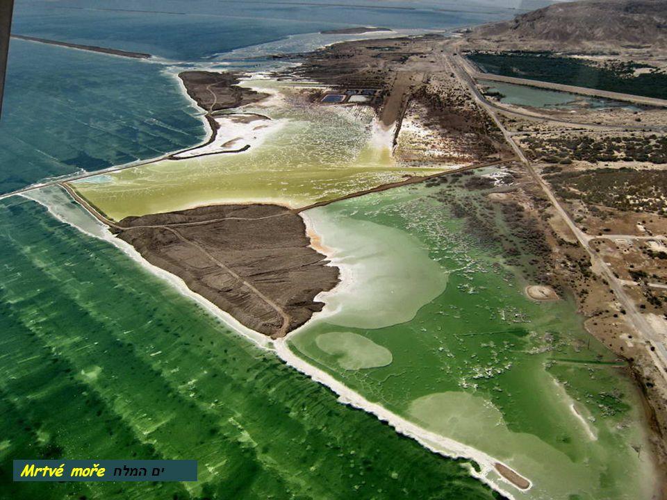מי תהום ים המלח Mrtvé moře – podzemní voda