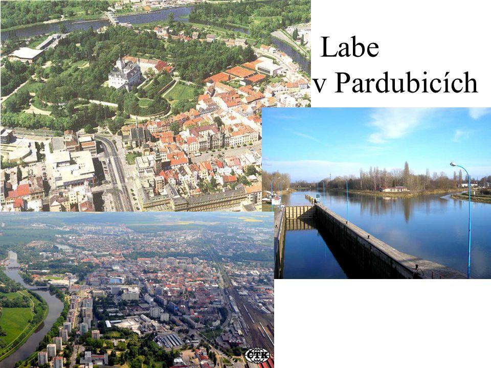 Labe v Pardubicích