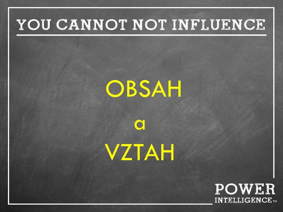 OBSAH a VZTAH