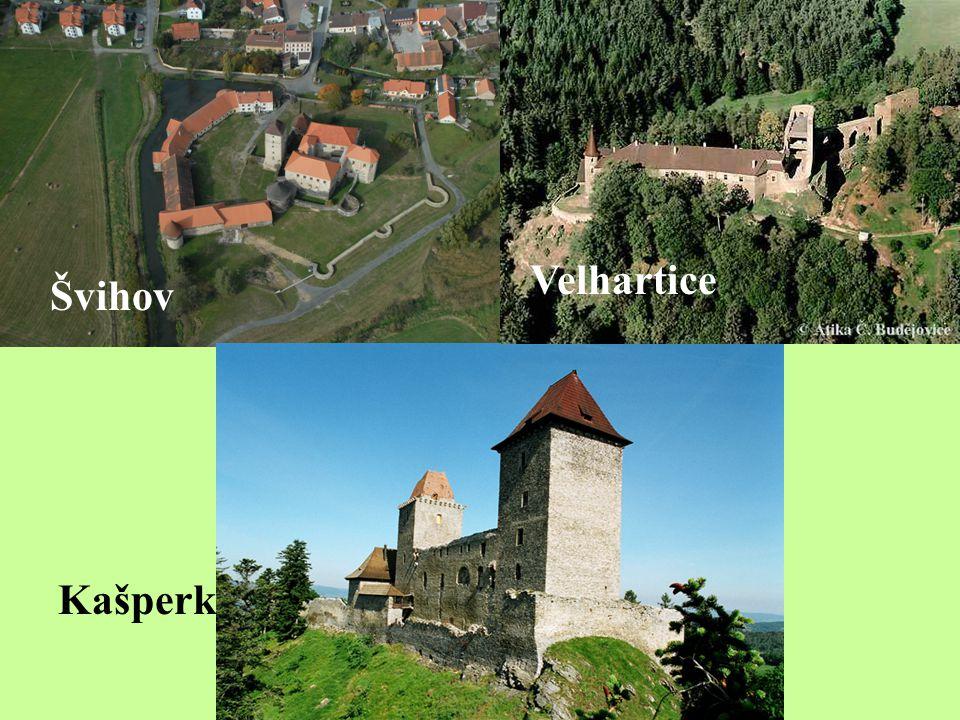 Švihov Kašperk Velhartice