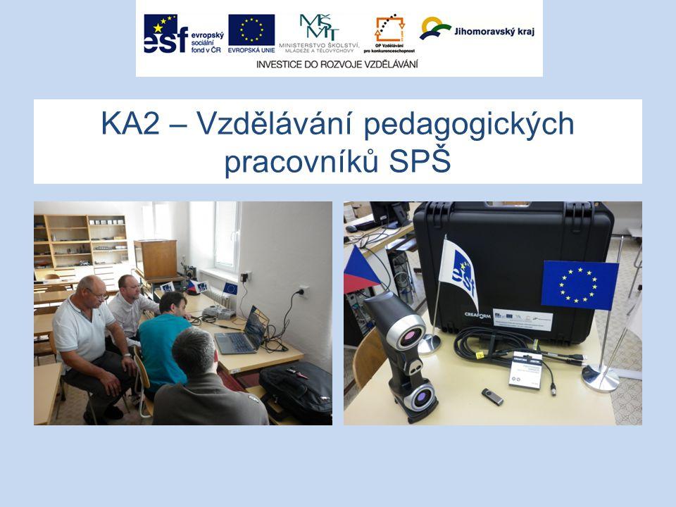 KA2 – Vzdělávání pedagogických pracovníků SPŠ